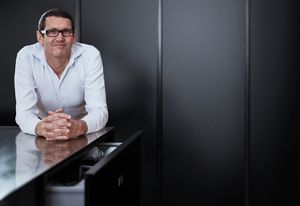 Mark Elmore, head of industrial design at Fisher & Paykel Appliances.