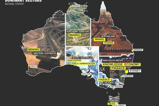 Map Of Australian Landscapes.A Failed Manifesto Oma And The Australian Countryside Architectureau