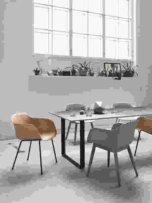 Fiber chair by Muuto.