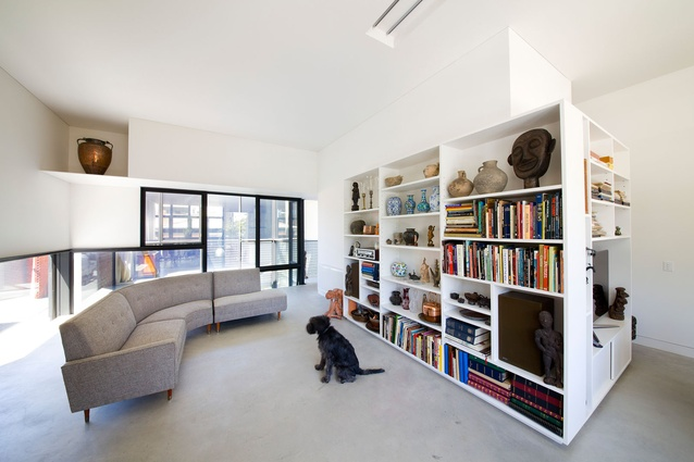 Residential Architecture Commendation – Queensberry Street House by Robert Simeoni Architects.