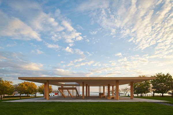 Ultramoderne's Lakeside Pavilion, Chicago Architecture Biennial 2015.