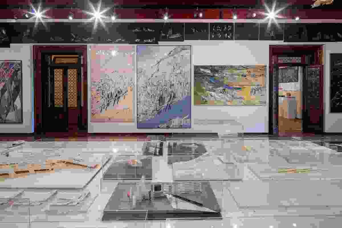 """The """"inquisitive and exploratory"""" Zaha Hadid exhibition showcased models, paintings and drawings."""