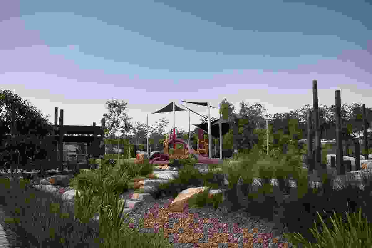 Forest Green Park by Form Landscape Architects won the Award of Excellence in the Play Spaces category.