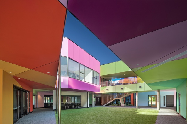 Ivanhoe Grammar Senior Years Centre by McBride Charles Ryan.