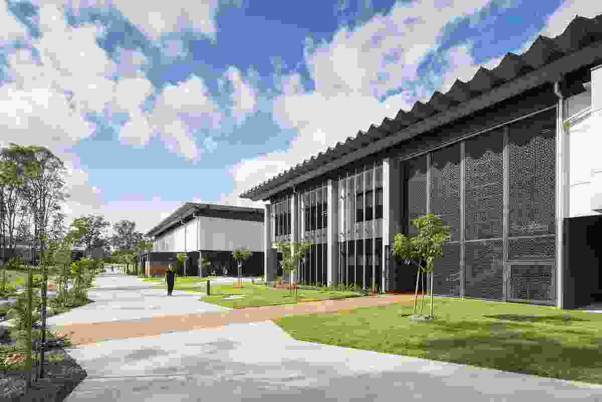 Commendation for Sustainable Architecture: St Joseph's College, Coomera by Macksey Rush Architects.