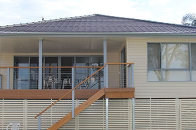 This new home at Buff Point NSW, featuring Duratuff Select vinyl cladding, was a finalist in two categories in the BDA 2014 Design Awards.