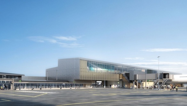 Gold Coast Airport redevelopment by Hassell.