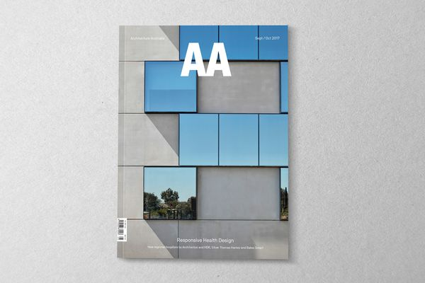 Architecture Australia September/October 2017.