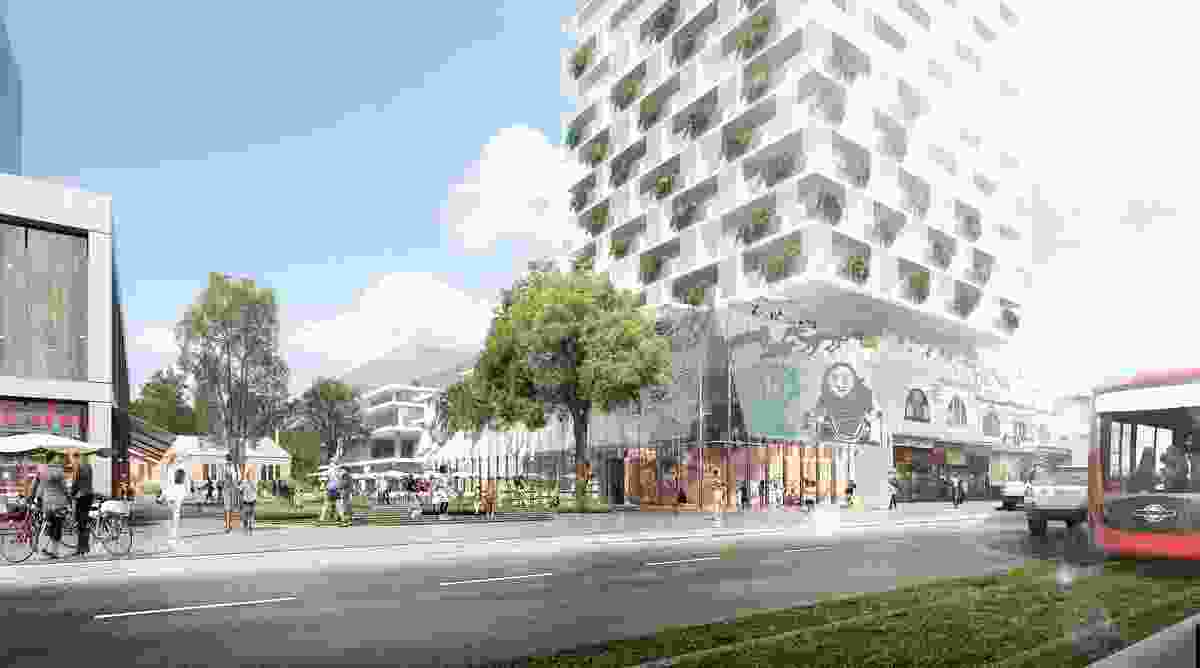 K2K proposal – Kensington School Commons by JBA Urban Design and Planning, Stewart Hollenstein Architecture and Urban Design, Arcadia Landscape and Natural Systems, The Transport Planning People and Jess Scully.