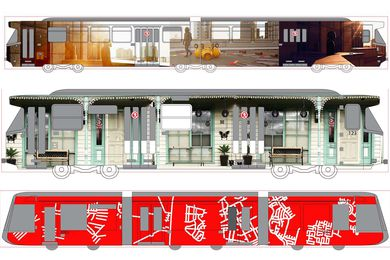 Melbourne's architecture-inspired Art Trams revealed