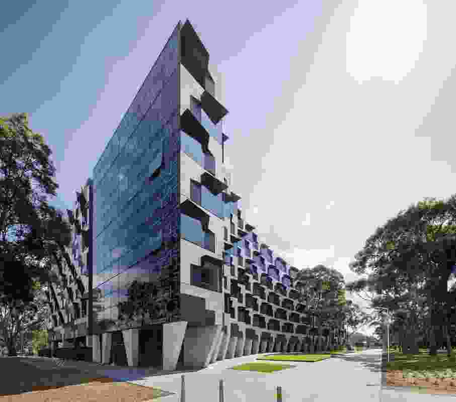 Monash University Logan Hall by McBride Charles Ryan.