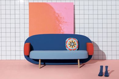 Float sofa by Karim Rashid for Sancal.