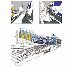Renders. The upper images show the