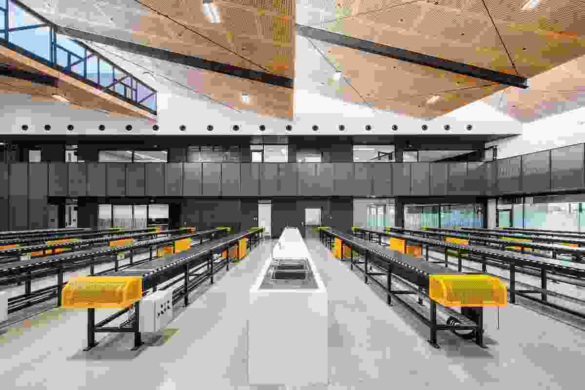 South Australia Drill Core Reference Library by Thomson Rossi.