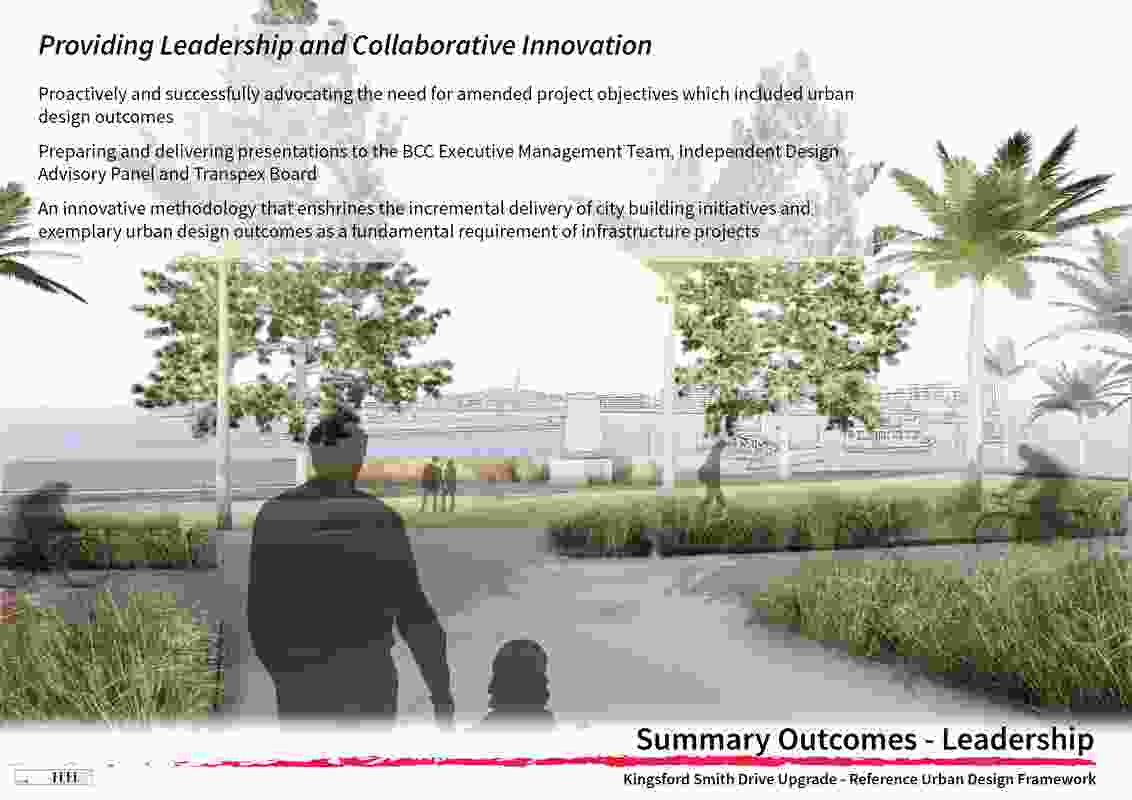 Kingsford Smith Drive Upgrade Project - Reference Urban Design Framework by Fred St.