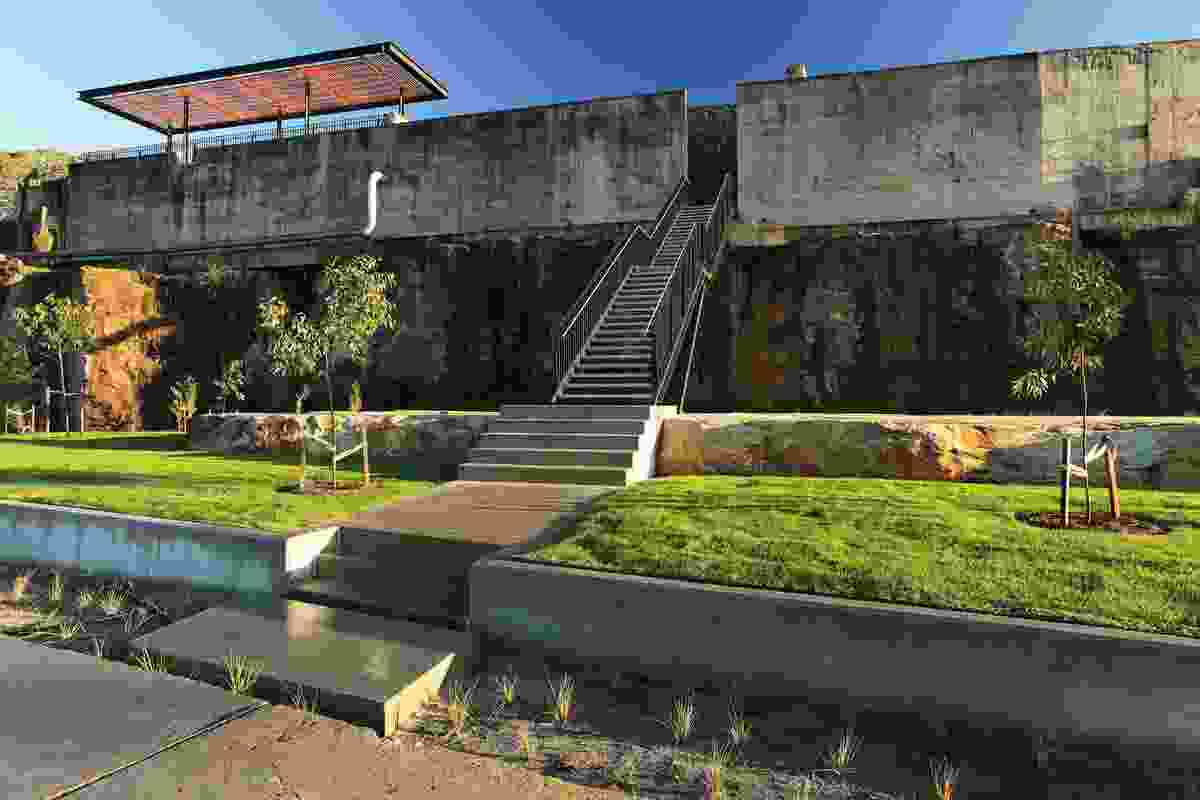 Ballast Point Park by McGregor Coxall with CHROFI for Sydney Harbour Foreshore Authority, Sydney, New South Wales, 2009.
