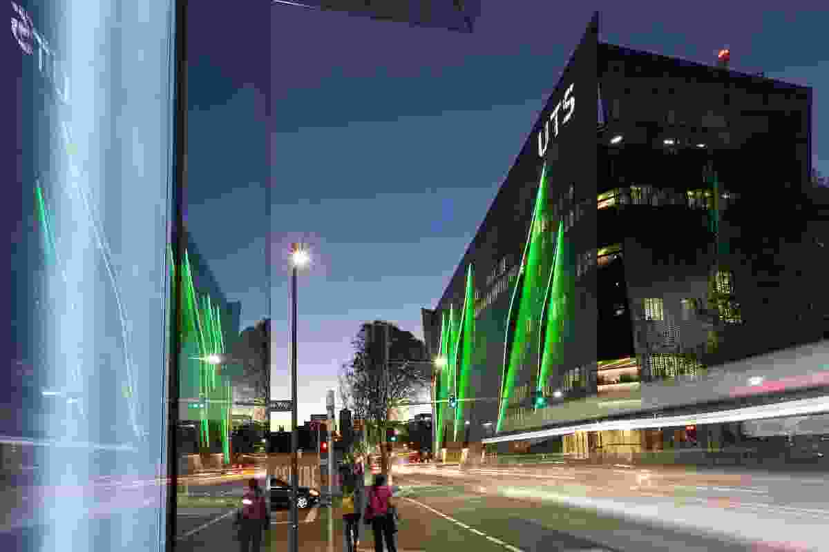 The Faculty of Engineering and IT, UTS, by Denton Corker Marshall.