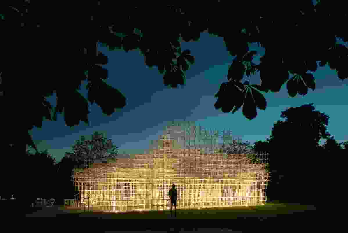 Serpentine Gallery Pavilion 2013, designed by Sou Fujimoto
