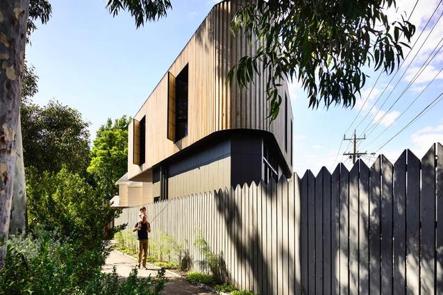 Triangle House by Molecule Studio.