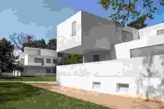 The new Gropius house in Dessau by architects Bruno Fioretti Marquez 2014.