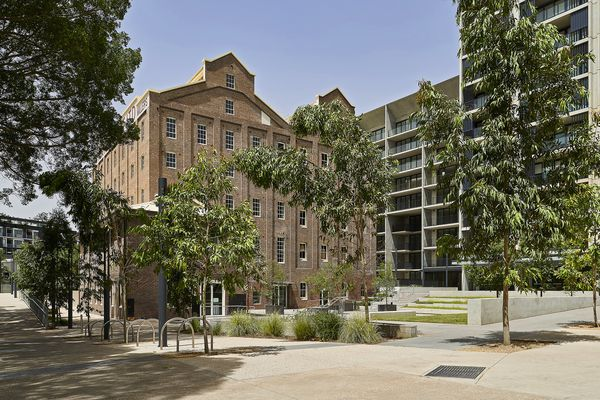 Flour Mill of Summer Hill by Hassell was one of the winners of the Built projects – local and neighbourhood scale category at the 2019 Australian Urban Design Awards.