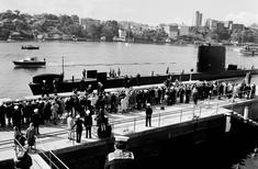 Derelict submarine base reborn as public park