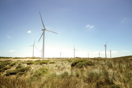 Wind turbines and the regional energy landscape