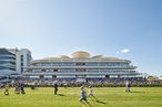 Bates Smart completes 'game changer' Flemington club stand