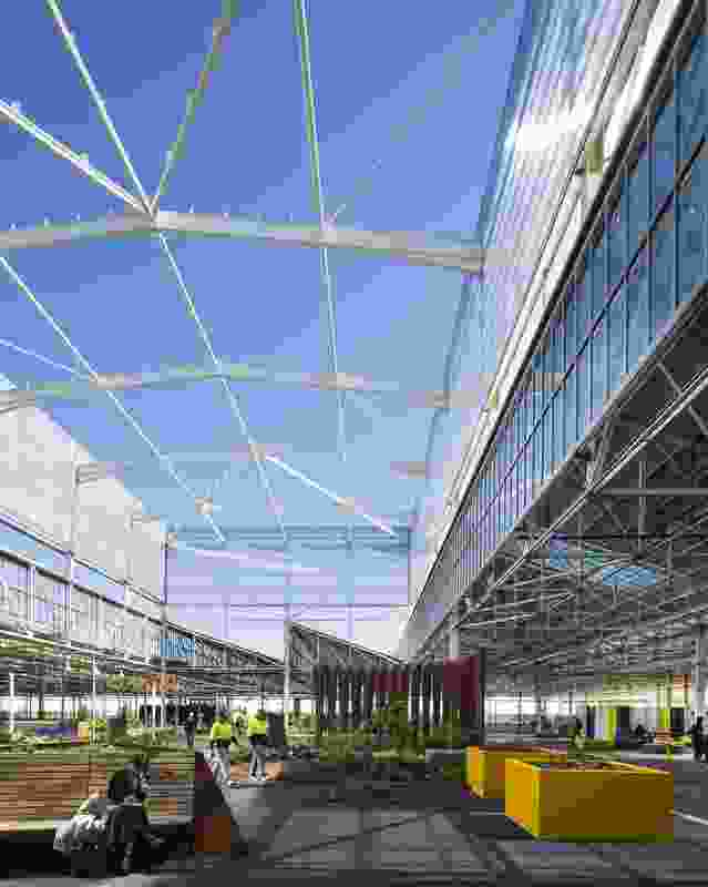 Tonsley Main Assembly Building and Pods (SA) by Woods Bagot and Tridente Architects.