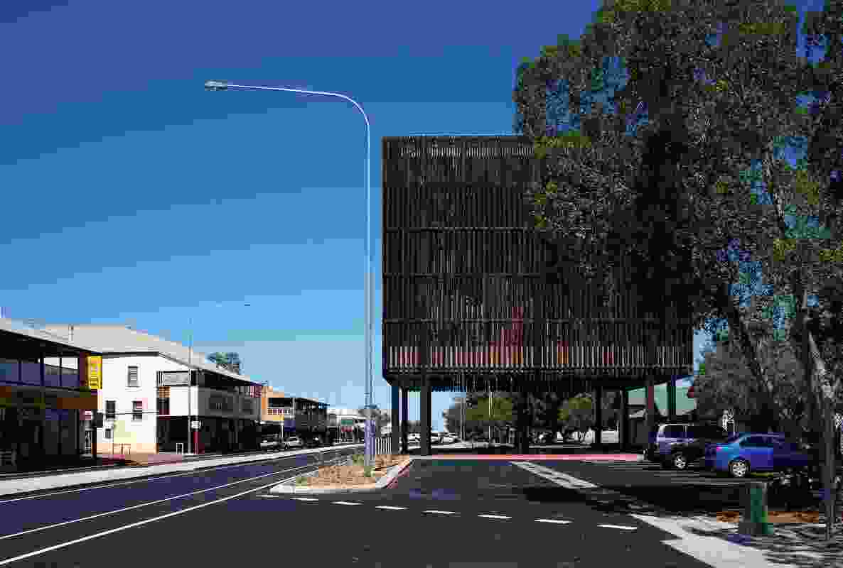 Main Street Barcaldine by M3 Architecture and Brian Hooper Architect (architects in association).
