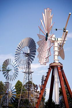 Reconstructions of the windmill imported in 1876 by the Qld Department of Public Works.