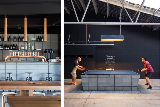 Shambles Brewery (Tas) by Room 11 Architects.