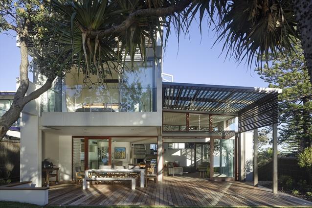 Currimundi Beach House by Conrad Gargett received a regional commendation.