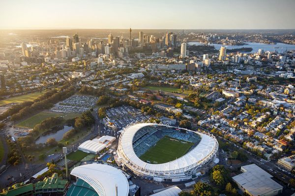 A document prepared for the Sydney Cricket Ground Trust in 2016 showed Allianz Stadium could have been upgraded to meet safety standards for as little as $18 million.