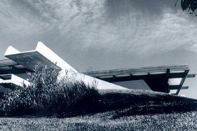 Enrico Taglietti design.
