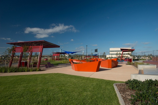Playford Alive Town Park	by Aspect Studios.