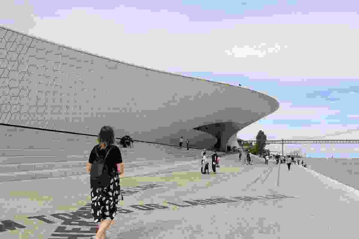 The Museum of Art, Architecture and Technology by Amanda Levete Architects.