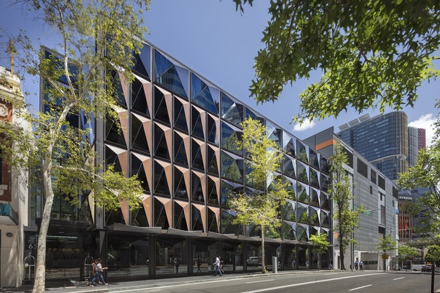 West Hotel, Sydney by Fitzpatrick and Partners in collaboration with Woods Bagot.