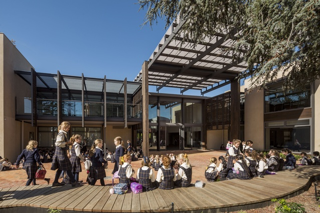 Ruyton Girls School - Junior School Campus by Sally Draper Architects with DP Toscano Architects.