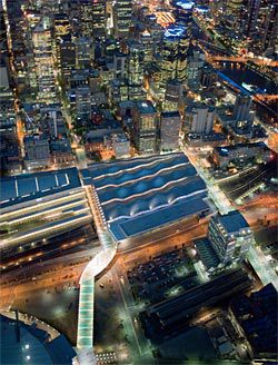 Aerial view of Southern
