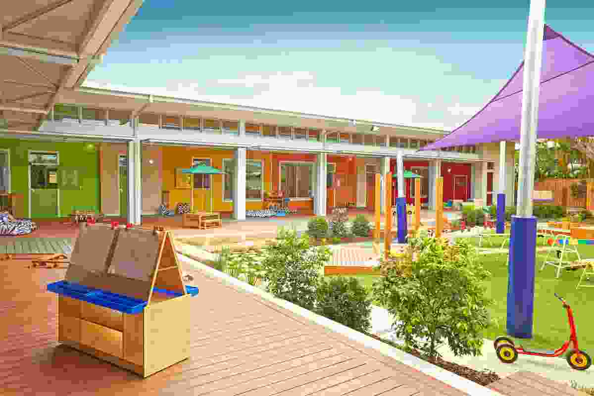 Mother Duck signature childcare centre by Context Architects.