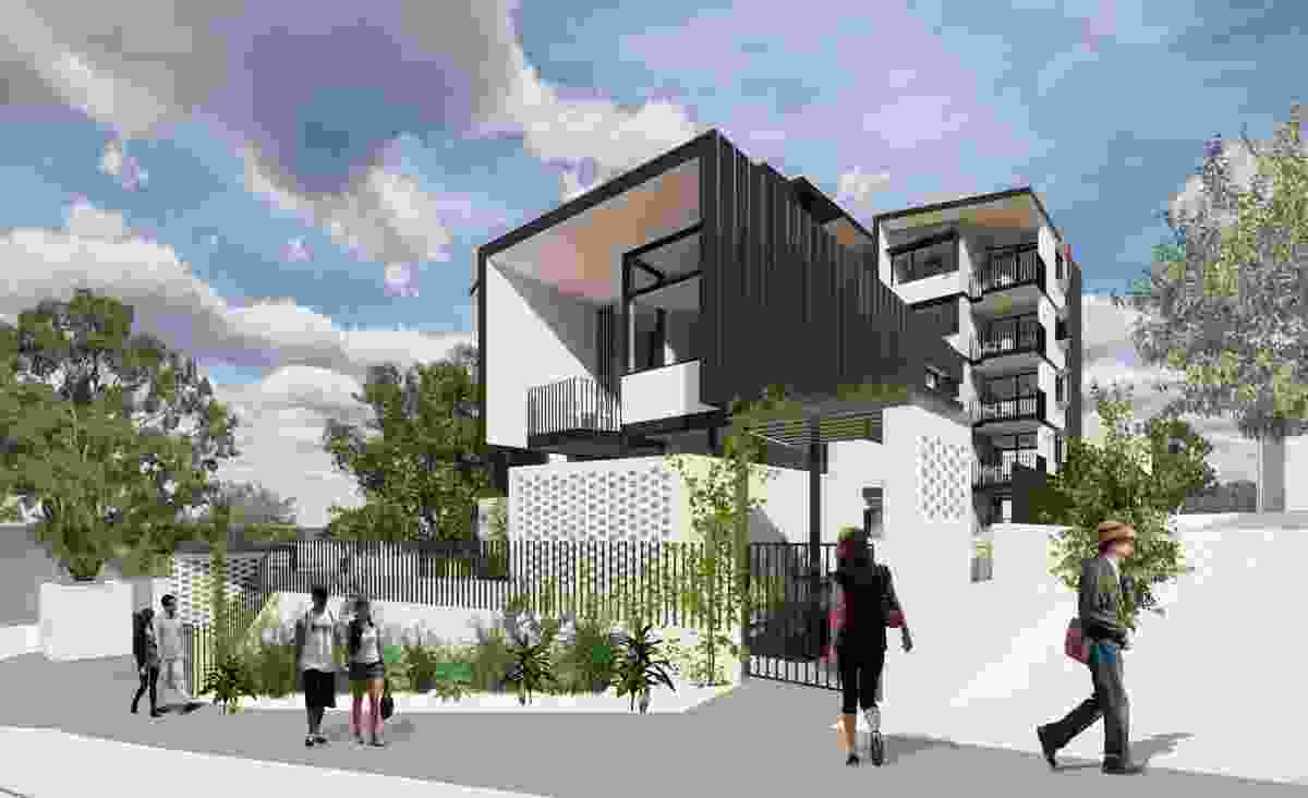 A proposed multi-unit social housing demonstration project in Labrador by Cox Architecture.