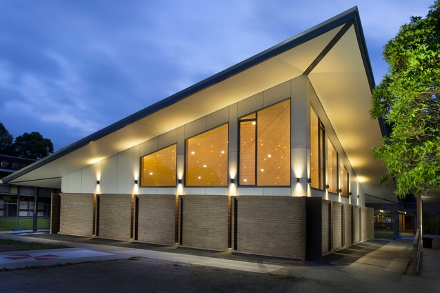 Sister Marie Centre, St Pius X High School by Schreiber Hamilton Architecture.