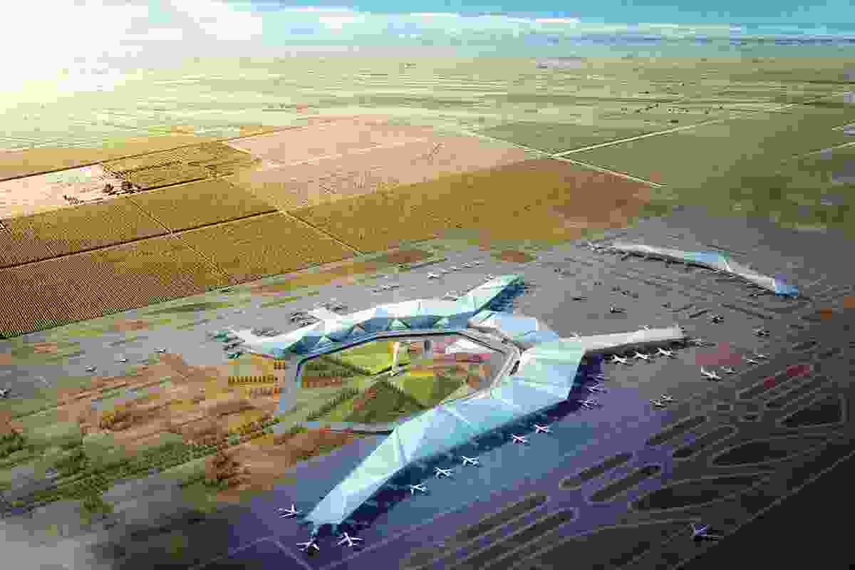The Harbin Airport China (competition).