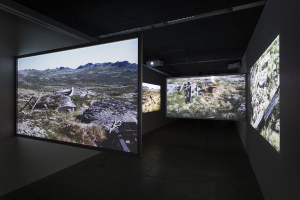 The video section of Super Field, designed by Baracco and Wright.