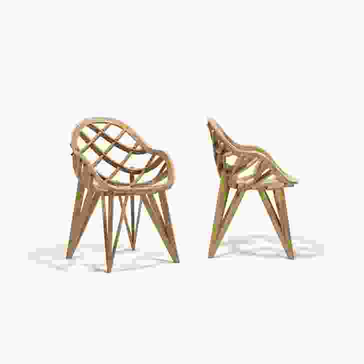 Opera chair, by Mario Bellini for Meritalia