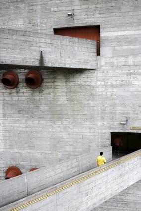 SESC Pompeia Factory leisure centre by Lina Bo Bardi.