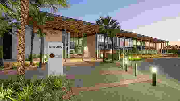 Menzies School of Health Research Royal Darwin Hospital by Hames Sharley.
