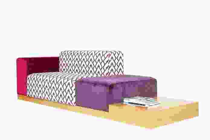 Ofset Modular sofa by Alexander Lotersztain.