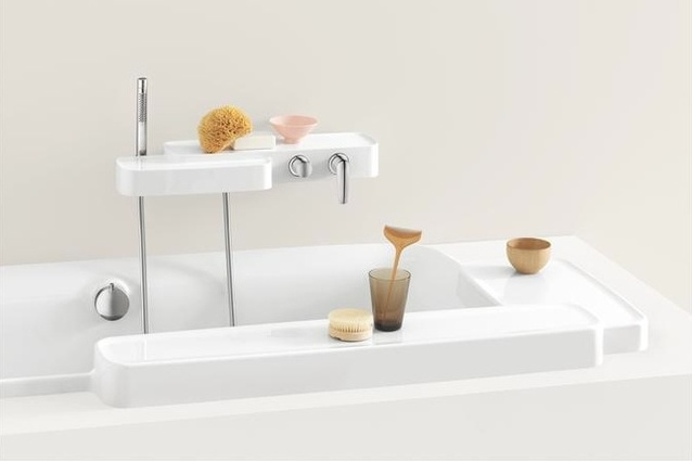 Items from the Axor Bouroullec collection.